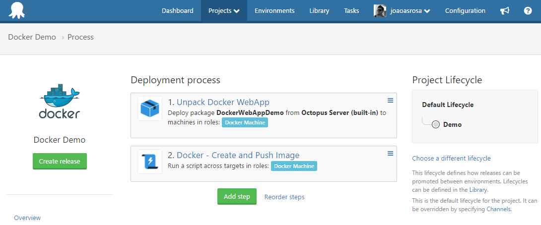 docker-octopus-project